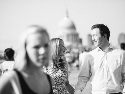 Grace & Cian, ENGAGEMENT SHOOT IN LONDON